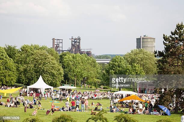 acapella festival in westfalenparks dortmund (deutschland) - dortmund stock-fotos und bilder