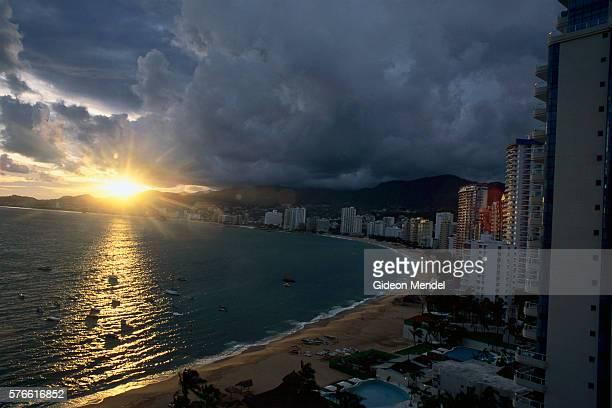 Acapulco Bay at Sunset