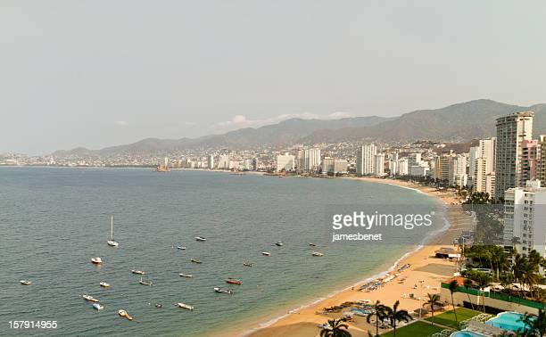 Baía de Acapulco manhã