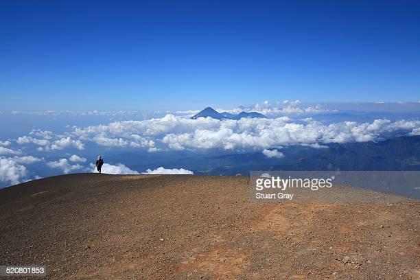 Acatenango volcano summit, Antigua, Guatemala