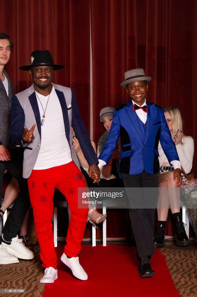 Accent Styles Designers Chris Ategeka And Matt Ategeka Walk The News Photo Getty Images