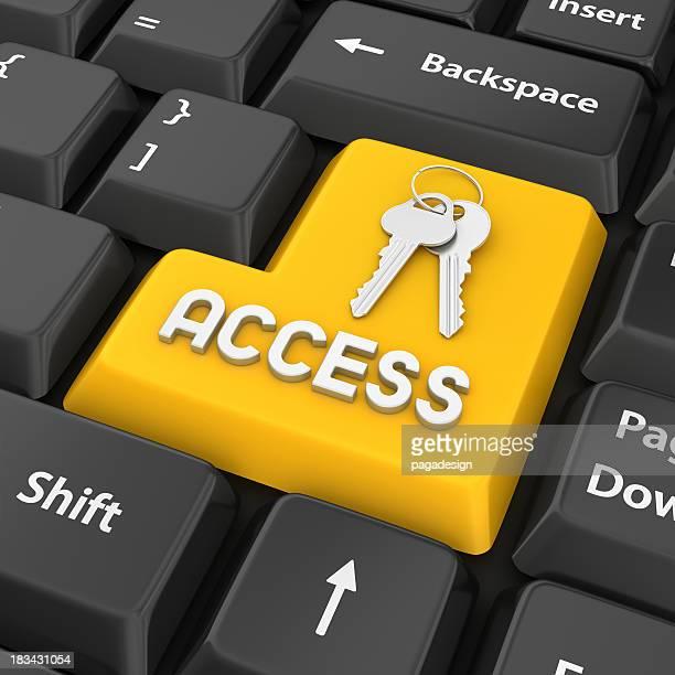 Zugang Eingabetaste