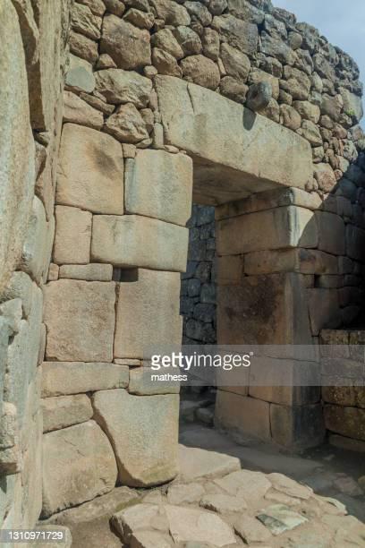 access gate to machu picchu ruins