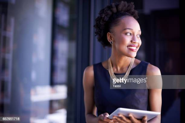 Access to information whenever and wherever she needs it