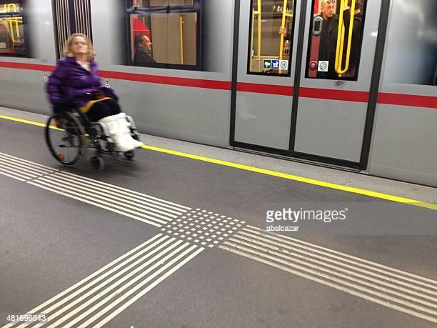 Barrierefreiheit in Wien U-Bahn