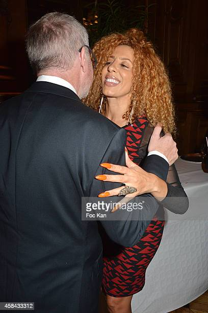 Accessibility Lab director/architect Paul Joly and Afida Turner attend 'Les Sesames De L'Accessibilite Positive' Ceremony Dinner At the Hotel De...