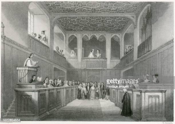 Accession of Queen Victoria St James's Palace Westminster London 1837 From the Mayson Beeton Collection Artist Unknown