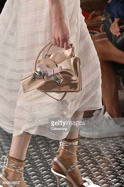 Accessories a bag detail on the runway at the No21 Spring Summer 2017 fashion show during Milan Fashion Week on September 21 2016 in Milan Italy