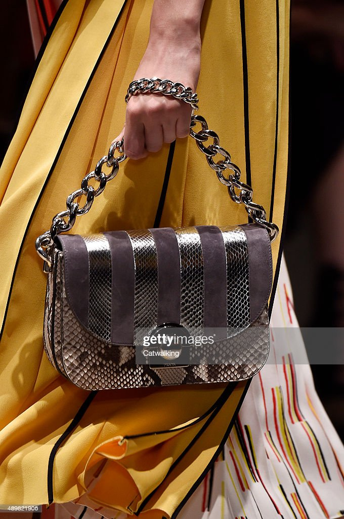 4212b57a47 Prada - Runway RTW - Spring 2016 - Milan Fashion Week   News Photo
