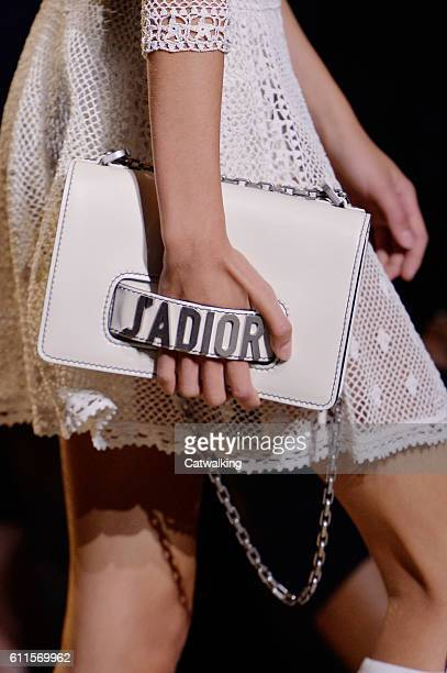 Accessories bag detail on the runway at the Dior Spring Summer 2017 fashion show during Paris Fashion Week on September 30 2016 in Paris France
