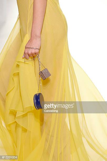 Accessories bag detail on the runway at the Hermes Spring Summer 2017 fashion show during Paris Fashion Week on October 3 2016 in Paris France
