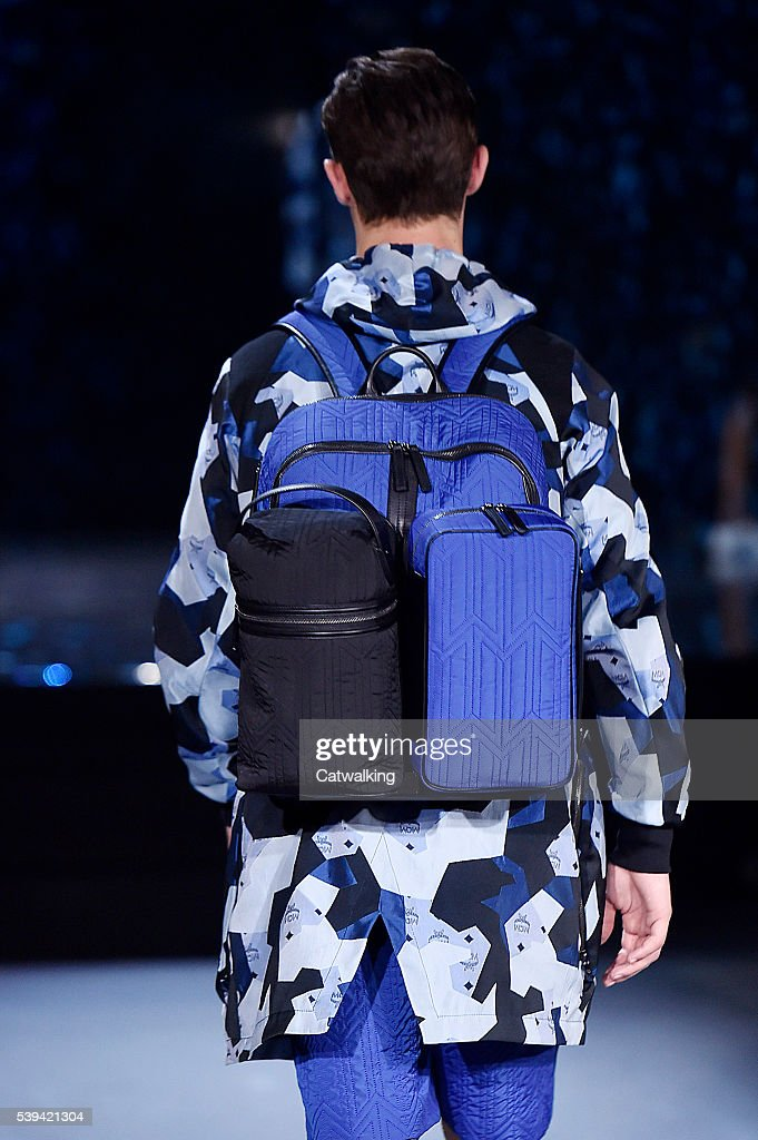 MCM x Christopher Raeburn - Mens Spring 2017 Runway - London Menswear Fashion Week : News Photo