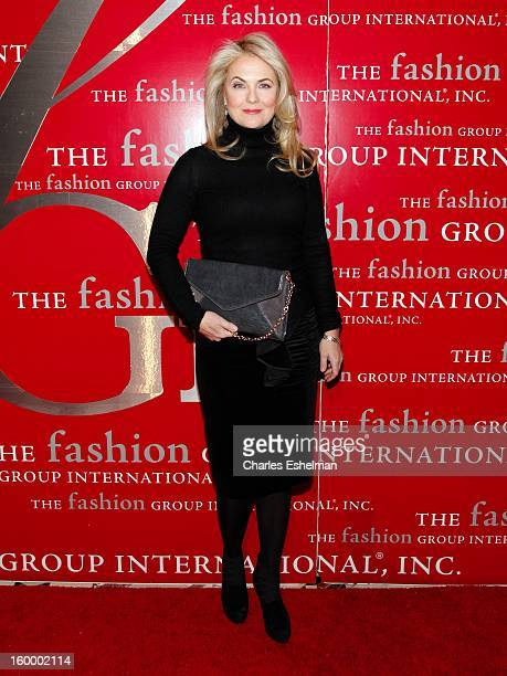 5200f68d077 Accessories finalist Cornella Guest attends the 16th annual Fashion Group  International Rising Star awards at Cipriani