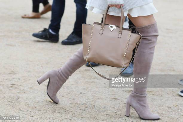 Accessory detail during Paris Fashion Week Womenswear Spring/Summer 2018 on September 27 2017 in Paris France