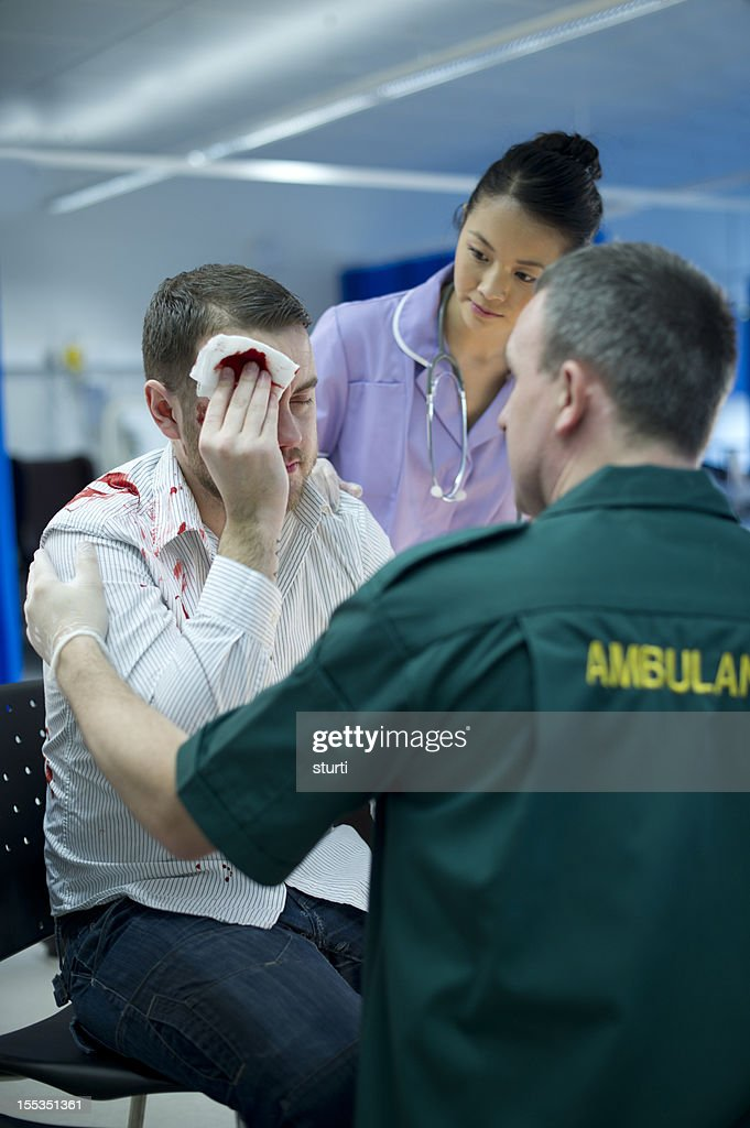 accident and emergency : Stock Photo