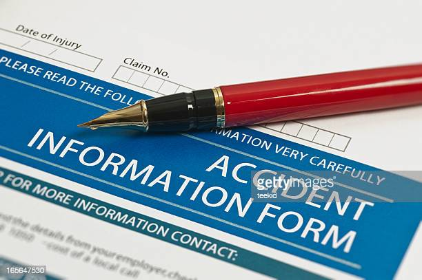 accident information form - special:random stock pictures, royalty-free photos & images