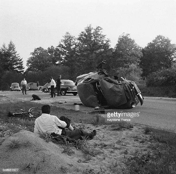 Accident mortel sur la Nationale 7 en ce weekend de la Pentecôte en France le 3 mai 1956