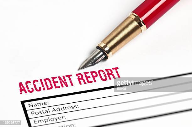 Unfallbericht Papier