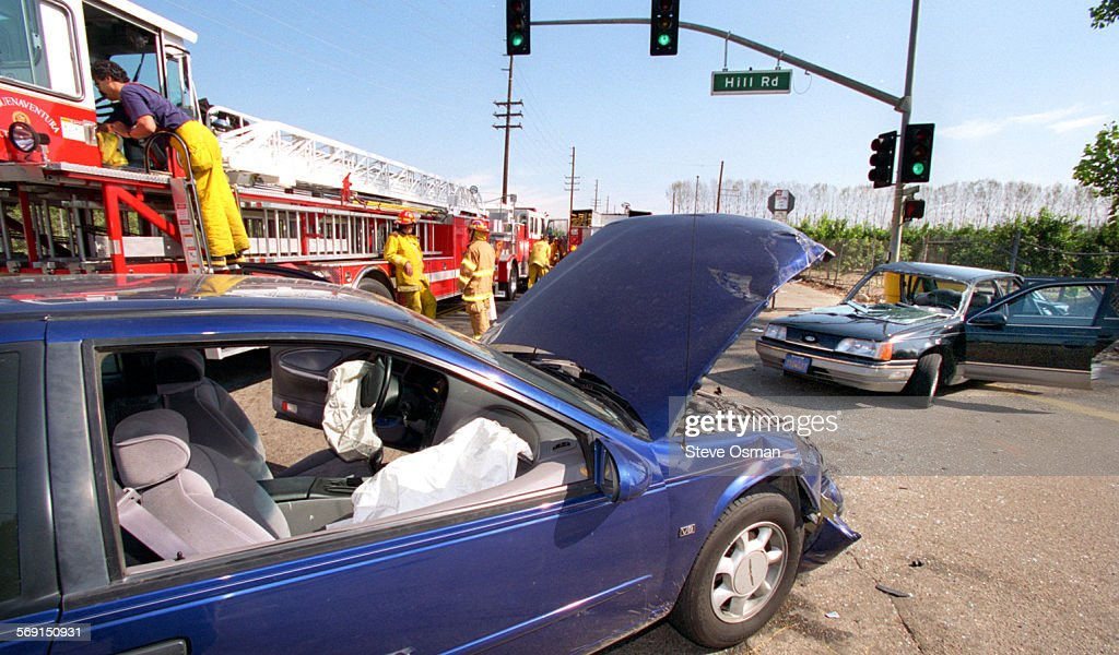 Accident scene at the intersection of Telegraph Rd. and Hill Road in ...