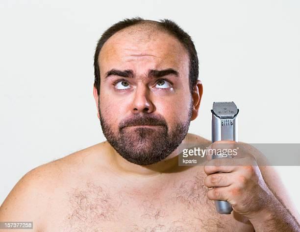 Accident whilst Shaving