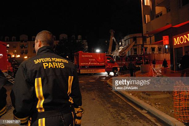 Accidental explosion In Bondy France On October 30 2007An explosion due to the accidental perforation of a gaz duct at the time of public roads care...