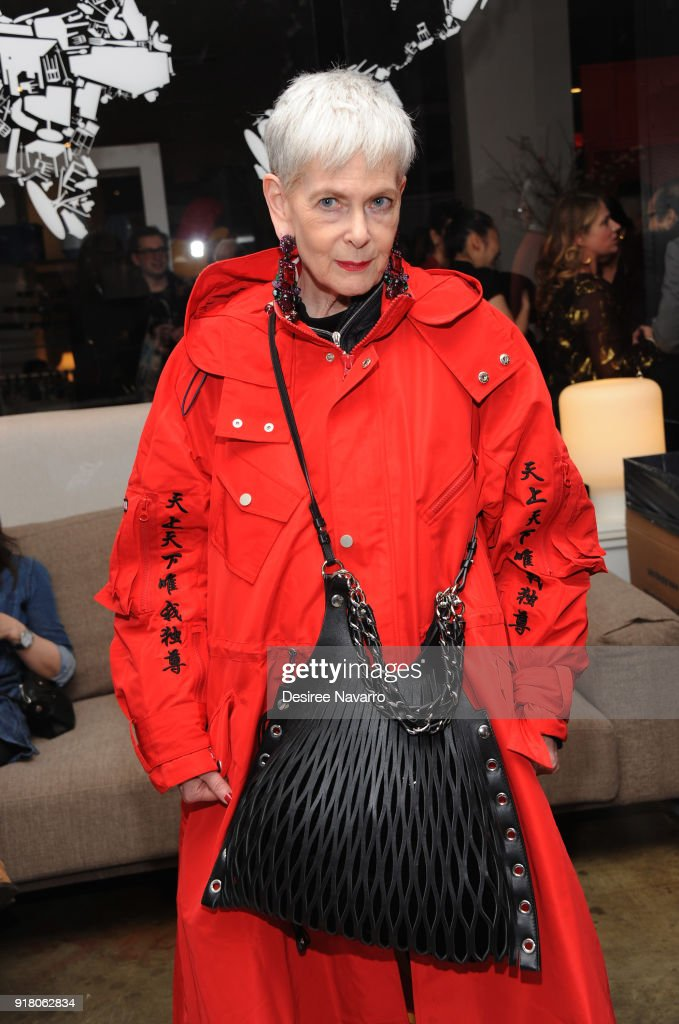 'Accidental Icon' attends the 2018 Red & Gold Party at Calligaris SoHo on February 13, 2018 in New York City.
