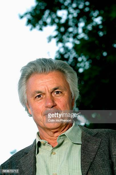 Acclaimed American writer John Irving pictured at the Edinburgh International Book Festival where he made a rare public appearance and talked about...