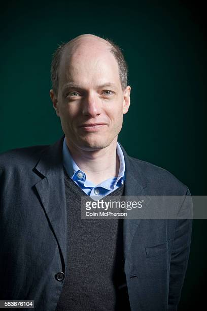 Acclaimed British philosopher and writer Alain de Botton at the Edinburgh International Book Festival where he talked about his latest book entitled...
