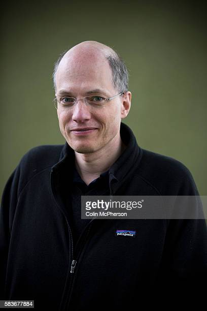 Acclaimed British philosopher and writer Alain de Botton pictured at the Edinburgh International Book Festival where he talked about his new work The...
