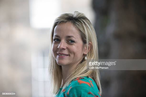 Acclaimed British wider Jennie Rooney, pictured at the Edinburgh International Book Festival where she talked about her latest novel entitled 'Red...