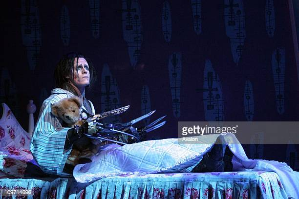 Acclaimed choreographer Matthew Bourne adapts Tim Burton's film 'Edward Scissorhands' for ballet The title role is played by Sam Archer and the...