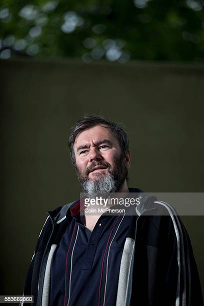 Acclaimed Scottish singersongwriter and former member of the band Arab Strap pictured at the Edinburgh International Book Festival where he talked...