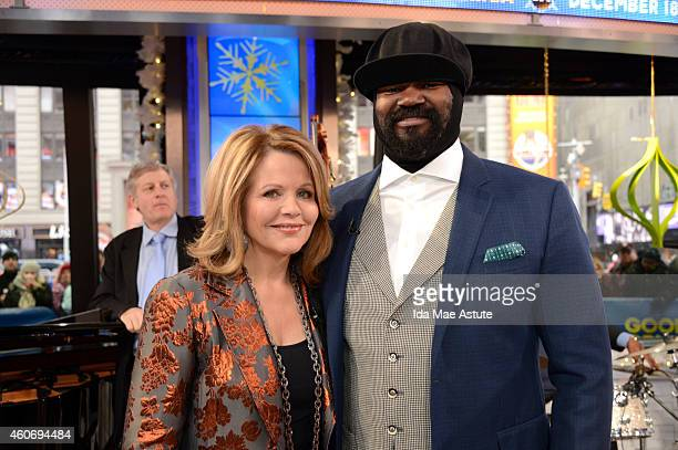 AMERICA Acclaimed soprano Renee Fleming is joined by Gregory Porter for a duet on GOOD MORNING AMERICA 12/18/14 airing on the ABC Television Network