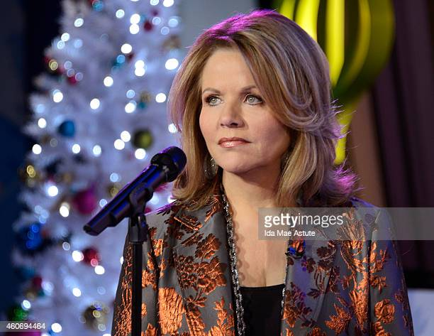 AMERICA Acclaimed soprano Renee Fleming performs on GOOD MORNING AMERICA 12/18/14 airing on the Walt Disney Television via Getty Images Television...