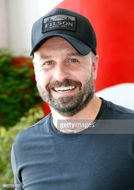 Acclaimed tenor and Broadway star Alfie Boe attends the 2018 National Memorial Day Concert Rehearsals at US Capitol West Lawn on May 26 2018 in...
