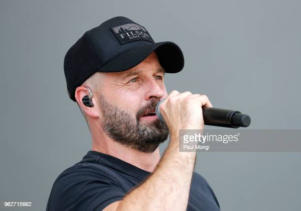 Acclaimed tenor and Broadway star Alfie Boe performs during the 2018 National Memorial Day Concert Rehearsals at US Capitol West Lawn on May 26 2018...