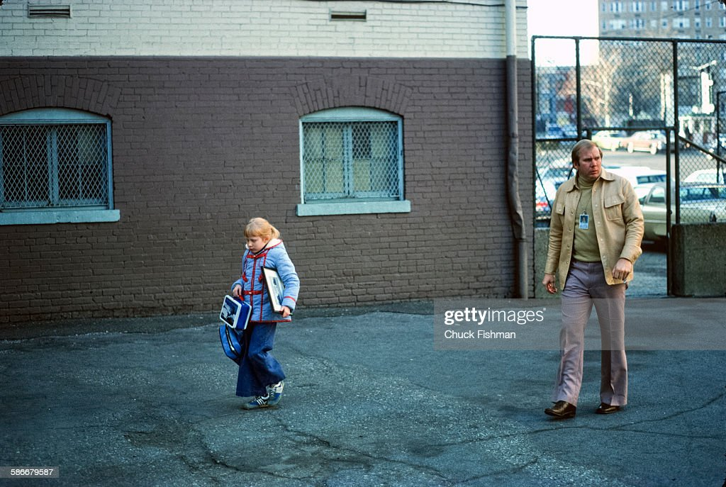 Amy Carter Goes To School : News Photo