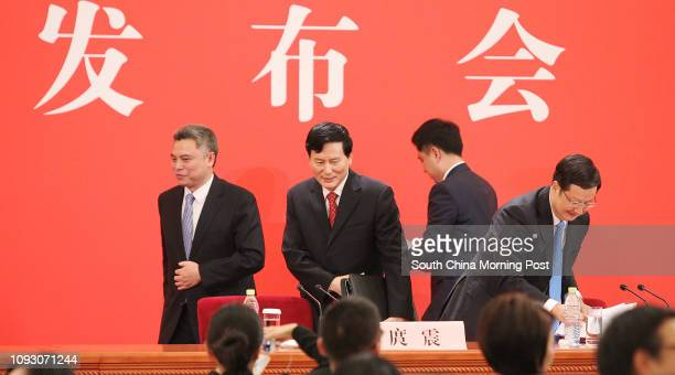 Accompanied by Hu Kaihong , Spokesman of the State Council Information Office, and Hu Xiaohan, head of the Central Propaganda Department's...