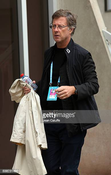 Accor CEO Sebastien Bazin attends the women's final on day 14 of the 2016 French Open held at RolandGarros stadium on June 4 2016 in Paris France