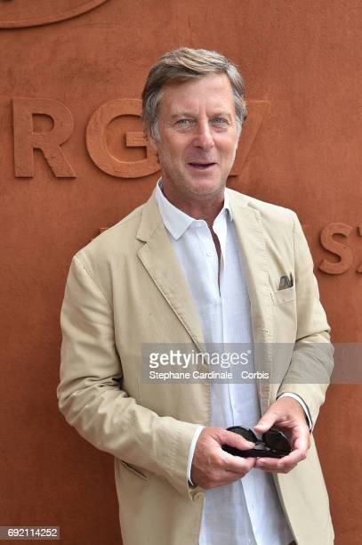 Accor Sebastien Bazin attends the 2017 French Tennis Open Day Seven at Roland Garros on June 3 2017 in Paris France