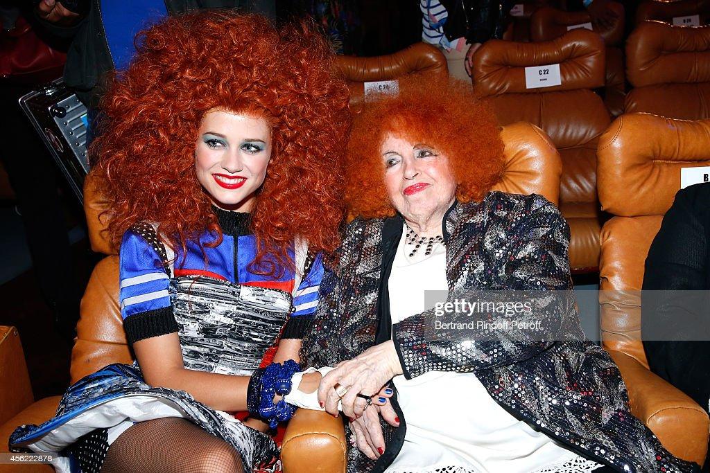 Jean Paul Gaultier : Front Row - Paris Fashion Week Womenswear Spring/Summer 2015 : Foto di attualità