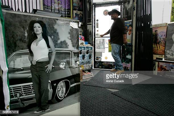 According to Frankie Fermie a disc jockey and Latino activist the poster at left in the Sound of Music record store May 13 'is the standard every...