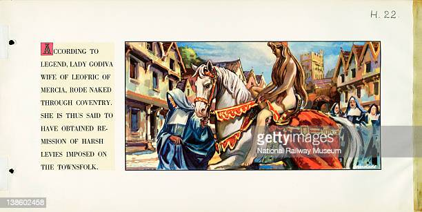According to legend Lady Godiva wife of Leofric of Mercia rode naked through coventry She is thus said to have obtained remission of harsh levies...