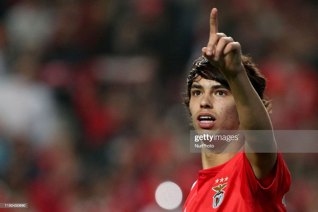 Joao Felix sold for 120 million euros to Atletico Madrid : News Photo