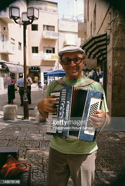 Accordion Player Israel