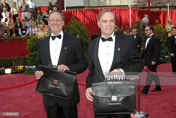 Accountants for PriceWaterhouseCoopers during The 77th Annual Academy Awards - Arrivals at Kodak Theatre in Los Angeles, California, United States.