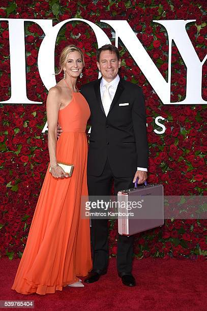 Accountants from Grant Thornton attend 70th Annual Tony Awards Arrivals at Beacon Theatre on June 12 2016 in New York City