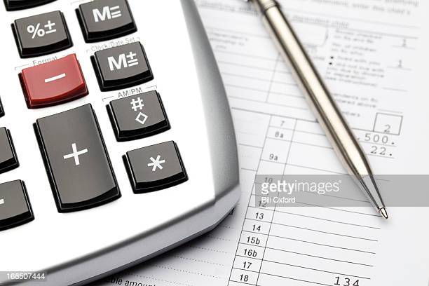 accounting - irs stock photos and pictures