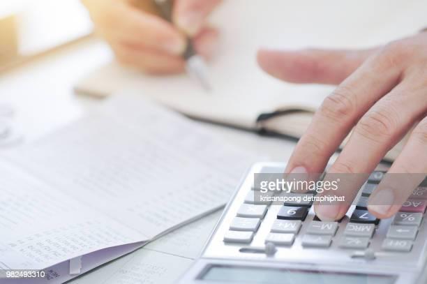 accounting - rechnungswesen stock-fotos und bilder