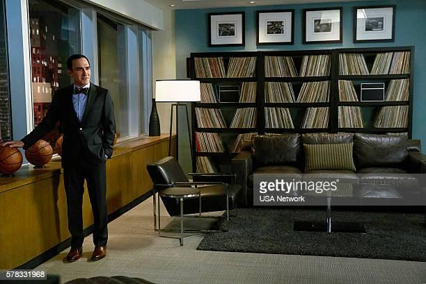 SUITS 'Accounts Payable' Episode 602 Pictured Patrick Fischler as Elliott Stemple